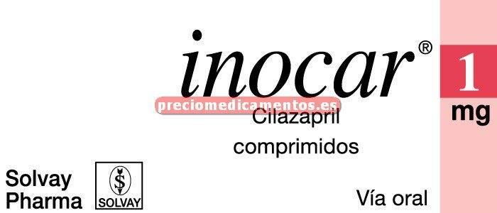 Caja INOCAR 1 mg 30 comprimidos