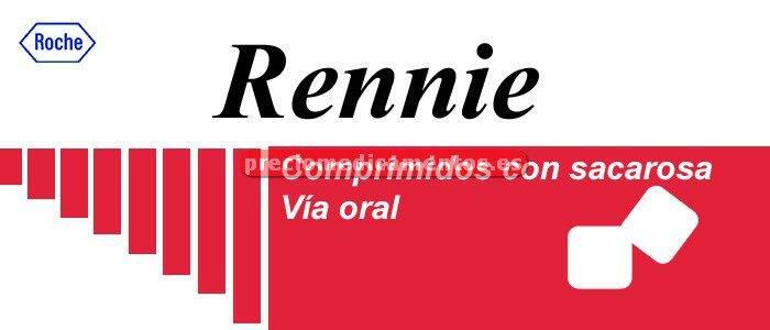 Caja RENNIE 36 comprimidos masticables con sacarosa