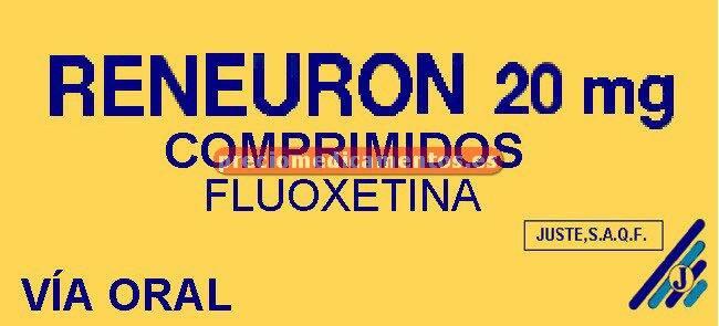 Caja RENEURON 20 mg 28 comprimidos dispersables