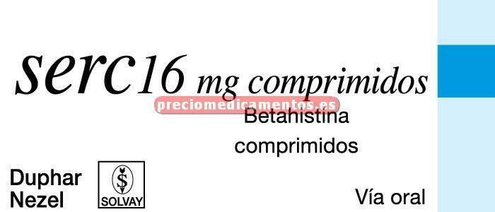 Caja SERC 16 mg 30 comprimidos