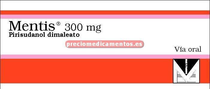 Caja MENTIS 300 mg 60 cápsulas