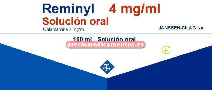 Caja REMINYL 4 mg/ml solución 100 ml