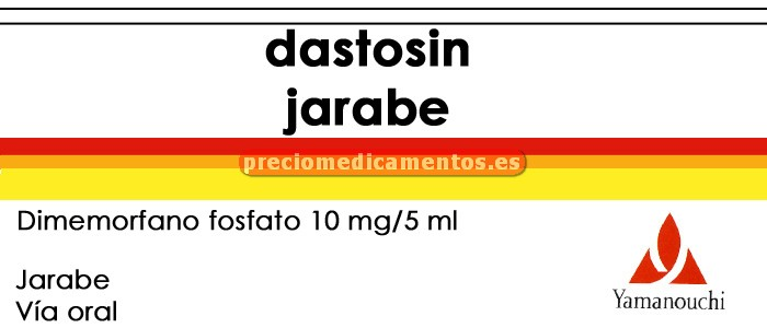 Caja DASTOSIN 10 mg/5 ml jarabe 150 ml