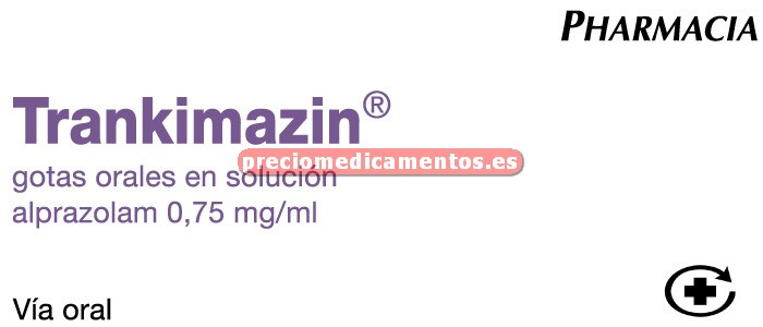 Caja TRANKIMAZIN 0.75 mg/ml gotas 20 ml