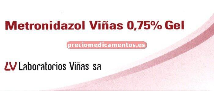 Caja METRONIDAZOL VIÑAS 0.75% gel 30 g
