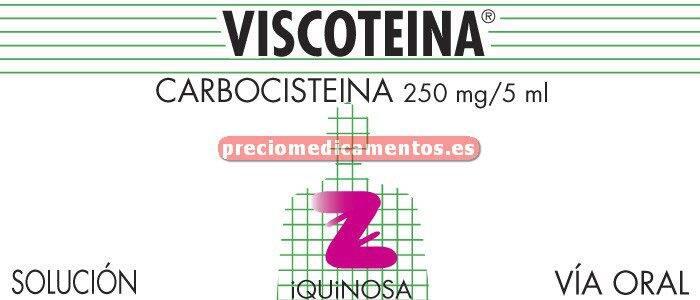 Caja VISCOTEINA 250 mg/5 ml solución 200 ml