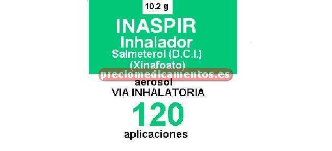 Caja INASPIR 25 mcg/puls susp inhal presión 120 dosis