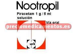 Caja NOOTROPIL 1 g/5 ml solución 100 ml