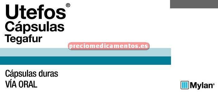 Caja UTEFOS 400 mg 20 cápsulas