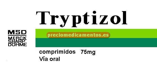 Caja TRYPTIZOL 75 mg 30 comprimidos recubiertos