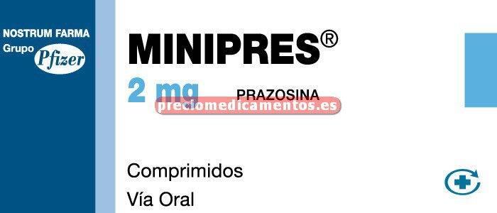 Caja MINIPRES 2 mg 60 comprimidos
