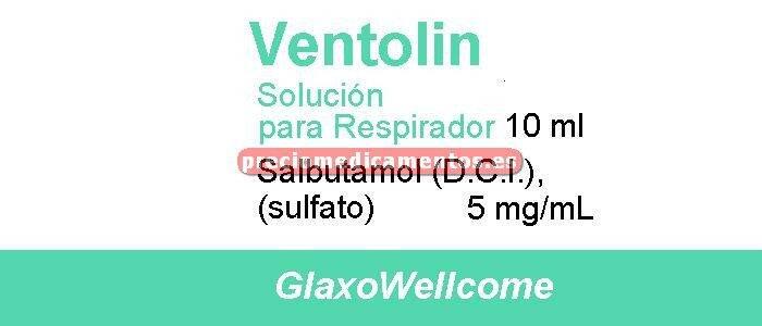 Caja VENTOLIN 0.5% solución nebulizador 10 ml