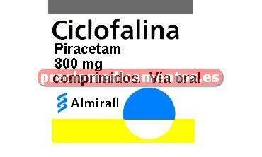 Caja CICLOFALINA 800 mg 60 comprimidos