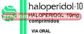 Caja HALOPERIDOL PRODES 10 mg 30 comprimidos