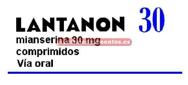 Caja LANTANON 30 mg 30 comprimidos recubiertos