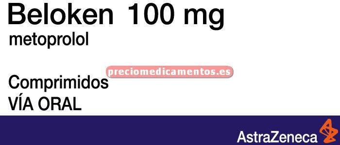 Caja BELOKEN 100 mg 40 comprimidos