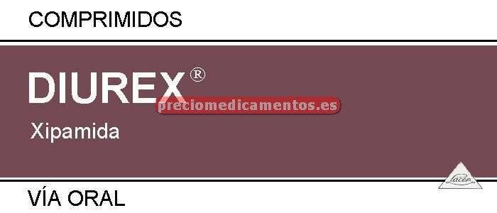 Caja DIUREX 20 mg 30 comprimidos