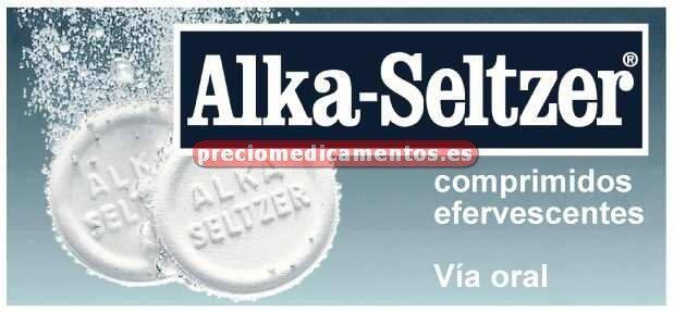 Caja ALKA SELTZER 2081,8 mg 20 comprimidos efervescente
