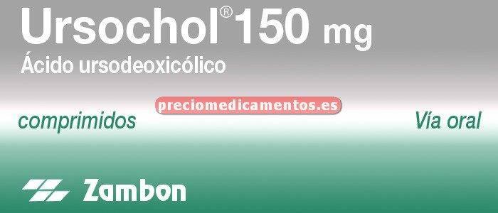 Caja URSOCHOL 150 mg 60 comprimidos