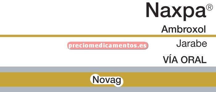 Caja NAXPA 15 mg/5 ml jarabe 200 ml