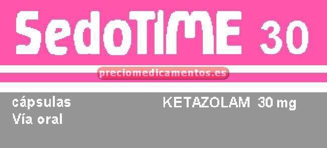 Caja SEDOTIME 30 mg 20 cápsulas