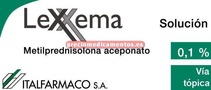 Caja LEXXEMA 1 mg/ml solución tópica 50 ml