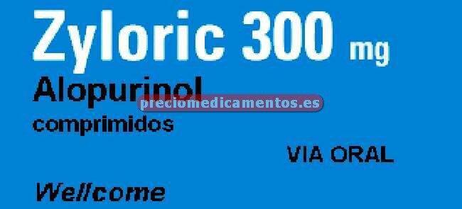 Caja ZYLORIC 300 mg 30 comprimidos