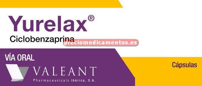 Caja YURELAX 10 mg 30 cápsulas