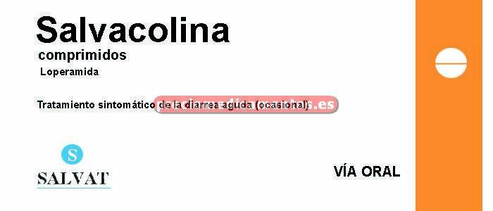 Caja SALVACOLINA 2 mg 20 comprimidos