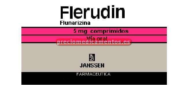 Caja FLERUDIN 5 mg 30 comprimidos