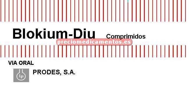 Caja BLOKIUM DIU 100/25 mg 28 comprimidos