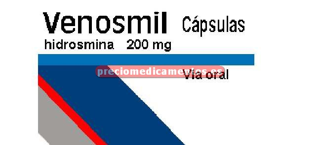 Caja VENOSMIL 200 mg 60 cápsulas