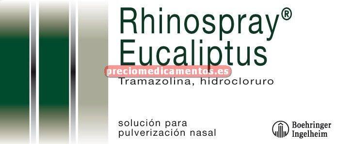 Caja RHINOSPRAY EUCALIPTUS 1,18 mg/ml nebulizador 10 ml