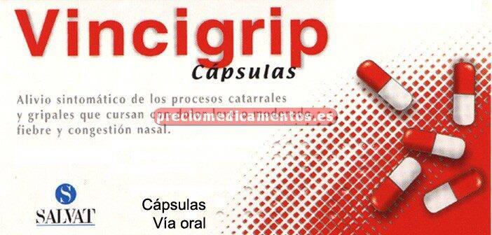 Caja VINCIGRIP 12 cápsulas
