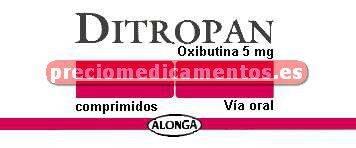 Caja DITROPAN 5 mg 60 comprimidos