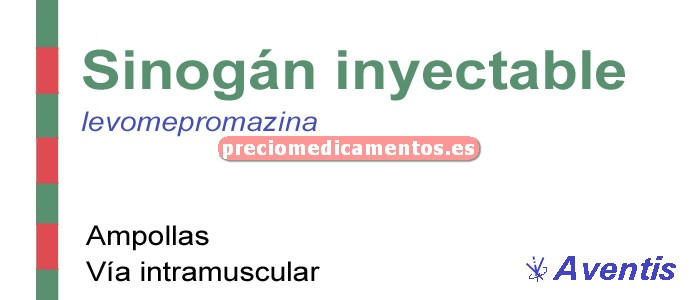 Caja SINOGAN 25 mg 10 ampollas 1 ml
