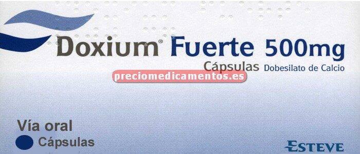 Caja DOXIUM FUERTE 500 mg 60 cápsulas
