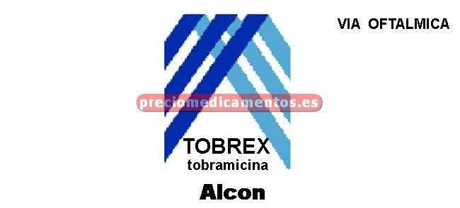 Caja TOBREX 0.3% colirio 5 ml