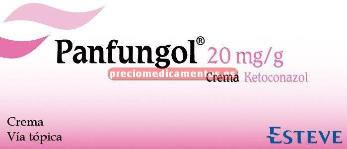 Caja PANFUNGOL TÓPICO 2% crema 30 g