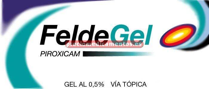 Caja FELDEGEL 0,5 % gel 60 g