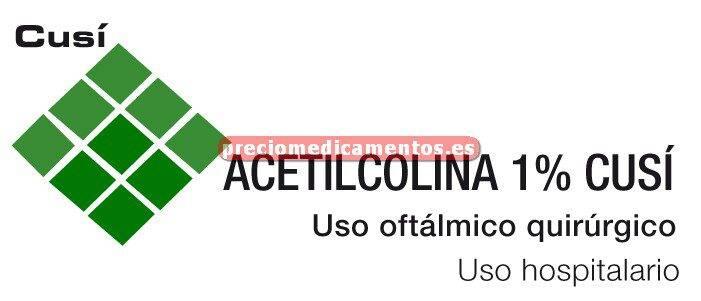 Caja ACETILCOLINA CUSI 1% 1 vial 2 ml