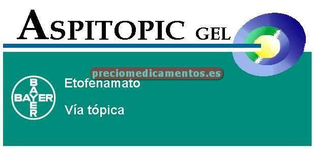 Caja ASPITOPIC 5% gel tópico 60 g