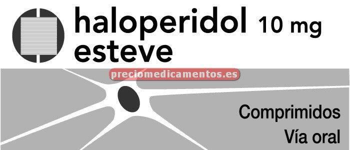 Caja HALOPERIDOL ESTEVE 10 mg 30 comprimidos