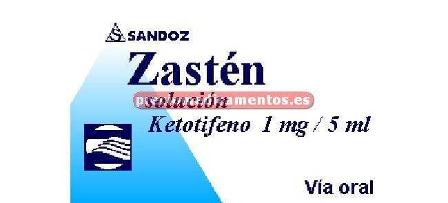 Caja ZASTEN 1 mg/5 ml solución 150 ml