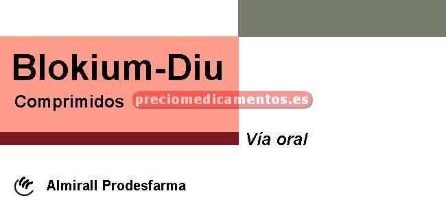 Caja BLOKIUM DIU 100/25 mg 56 comprimidos