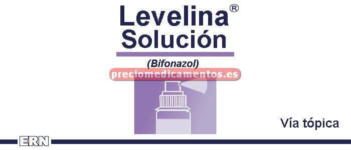 Caja LEVELINA 1% solución 30 ml