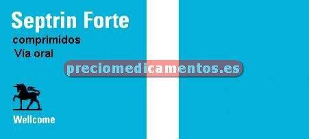 """Caja SEPTRIN """"FORTE"""" 800/160 mg 20 comprimidos"""