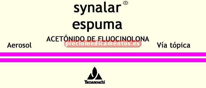 Caja SYNALAR 0.025% espuma 60 g