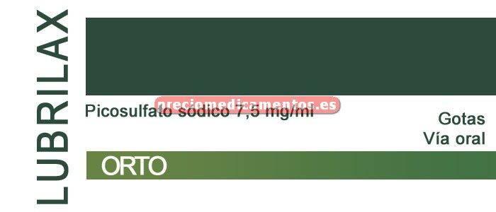 Caja LUBRILAX 7.5 mg/ml gotas 30 ml