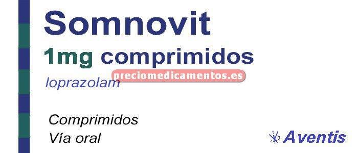 Caja SOMNOVIT 1 mg 30 comprimidos